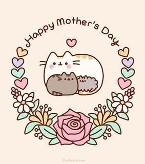 happy, cartoon and mother