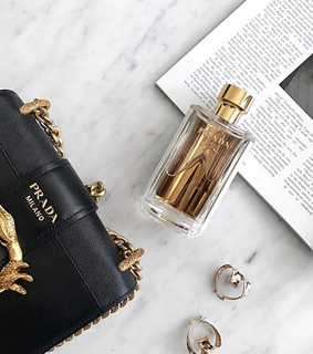 golden, perfume and brand