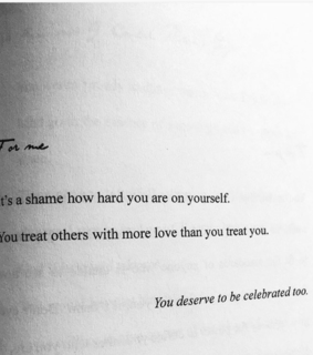 self love, happy and poetry