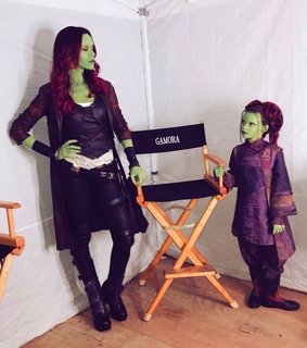 gaurdians of the galaxy, Marvel and gamora