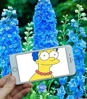 simpson and marge