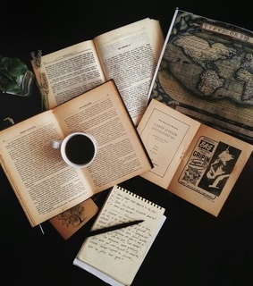 coffee, relax and journal