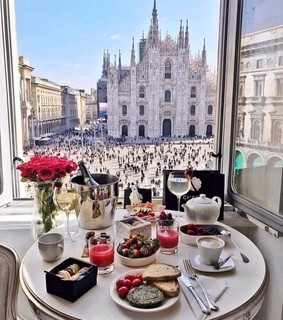 coffee, milano and red