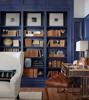 blue, photography and books