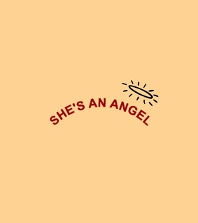 yellow, quotes and angel