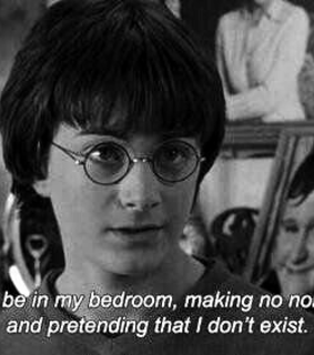 quote, harry potter and frase