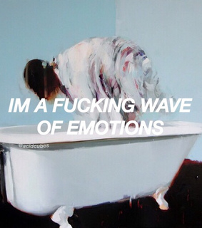 alternative, tumblr and emotions
