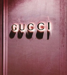 gucci, aesthetic and lights