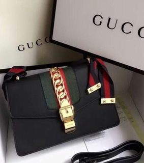 black, style and gucci