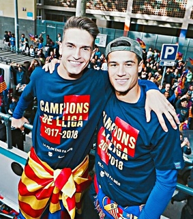 fans, ??????? and denis suarez