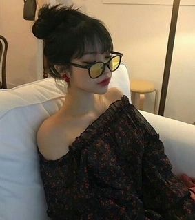 ulzzang, asia and glasses