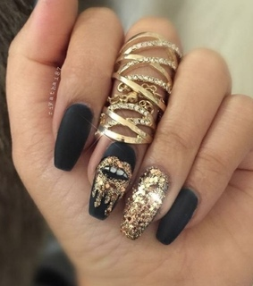 glam, cute and gold