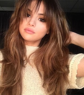 hair, selena gomez and celebrities