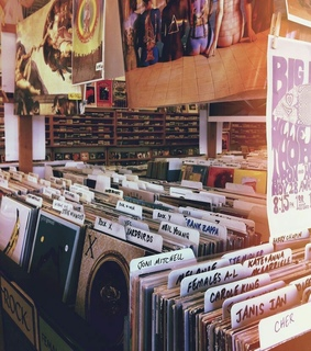 vinyl, records and music