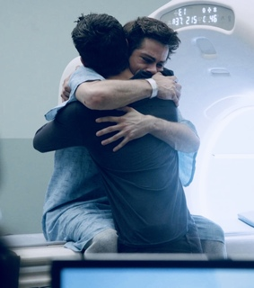 hug, stiles stilinski and sciles