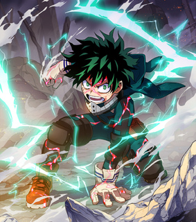 anime boy, deku and izuku midoriya
