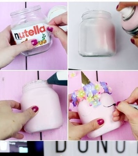 unicorn, diy and beauty