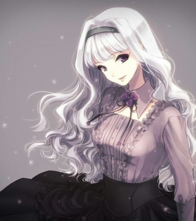 white hair, beautiful and anime girl best