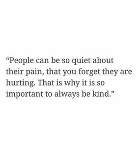 hurting, people and quiet