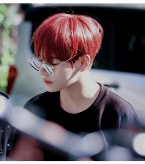 bts, red hair and taehyung