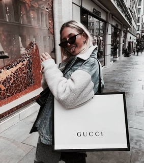 gucci, makeup and shopping