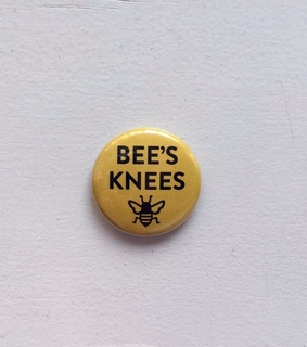 pin, yellow and knees