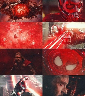 colours, superheroes and Avengers