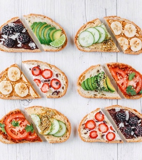 sandwich, healthy and FRUiTS