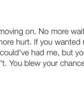want, hurt and chance