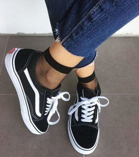 vans, style and fashion