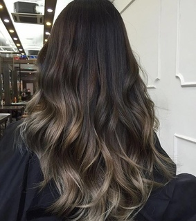 beautiful hair, balayage and hairdo