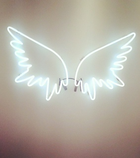 wings, light and pic