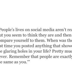 quote, social media and people