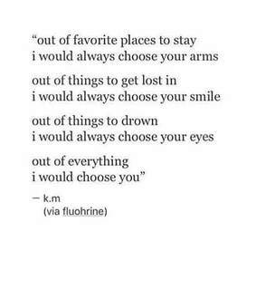 love, choose and place