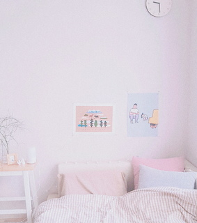 pink, home and aesthetic
