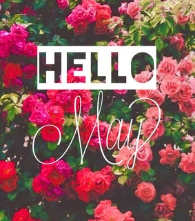 spring, hello and month