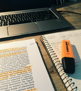studying, orange and school
