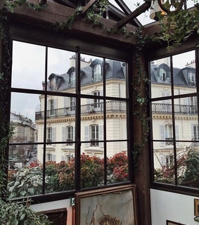 france, paris and home