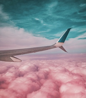 clouds, sky and travel