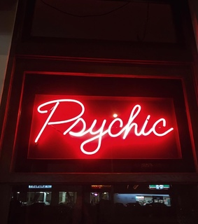 psychic, red and aesthetic