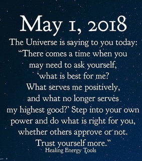 may, trust yourself and month