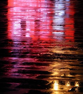 photography, rain and reflection