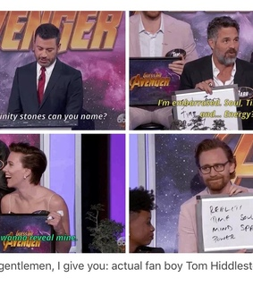 tom hiddleston, Avengers and infinity war