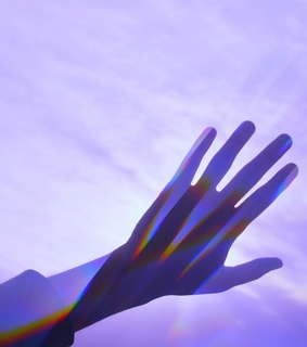 hands, shadow and aes