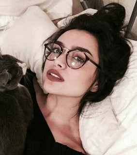 aesthetic, girls and glasses
