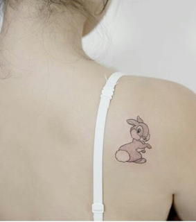 delicate, bambi and tattoed