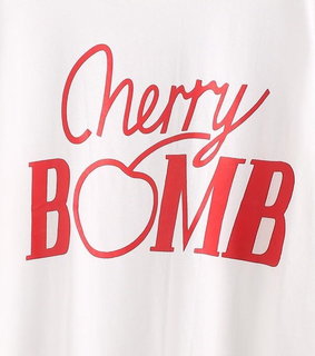 cherry bomb, red and girl