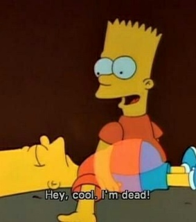 bart, simpsons and quotes