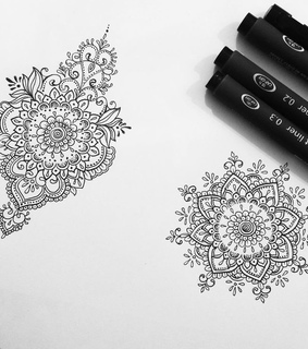 flowers, design and tatto idea