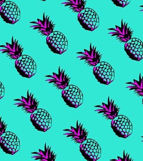wallpapers, art and pineapple